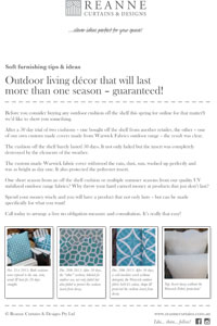 Reanne Curtains Amp Designs Ideas For Interiors Amp Outdoor